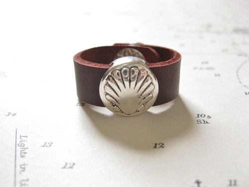 Camino de Santiago symbol ring - scallop shell