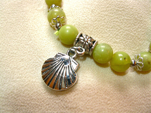 The symbolic scallop shell to support one along life's camino