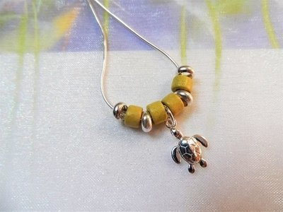 Lucky turtle necklace