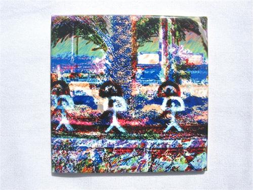 Indalo glazed tile ~ Parade