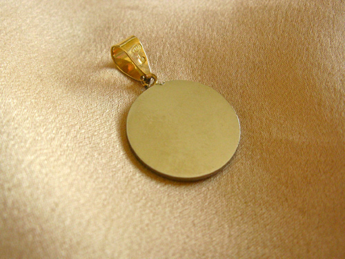 Reverse of the Indalo pendant
