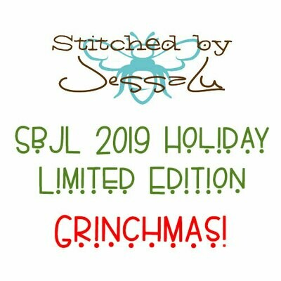 SbJL Limited Edition - 2019 Holiday Surprise- Grinchmas!