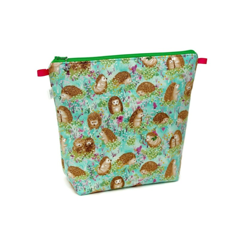 Spring Floral Hedgehogs - Tall Wedge