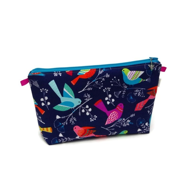 Birds in Navy - Regular Wedge BirdsNavy-RW