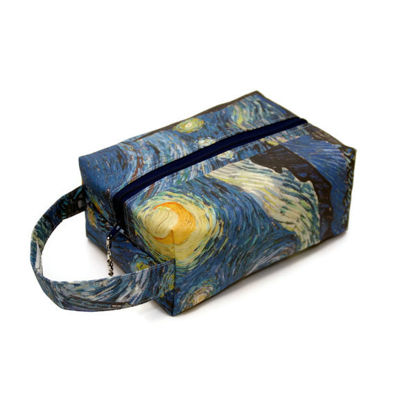 Whovian - Starry Tardis - Regular Box Bag StarryTardis-RB