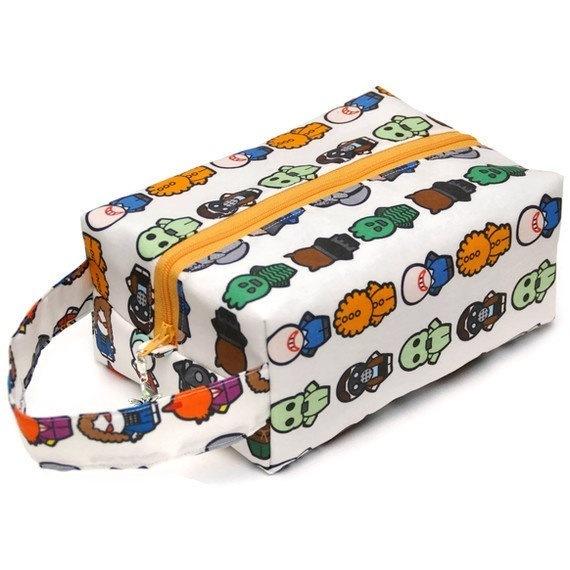Whovian - Monsters - Regular Box Bag WhoMonsters-RB