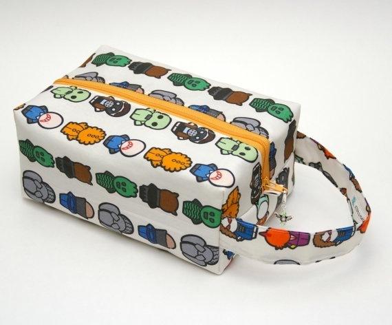 Whovian - Monsters - Regular Box Bag