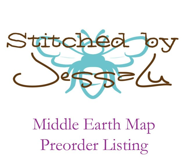 Preorder - Middle Earth Map MiddleEarthPreorder
