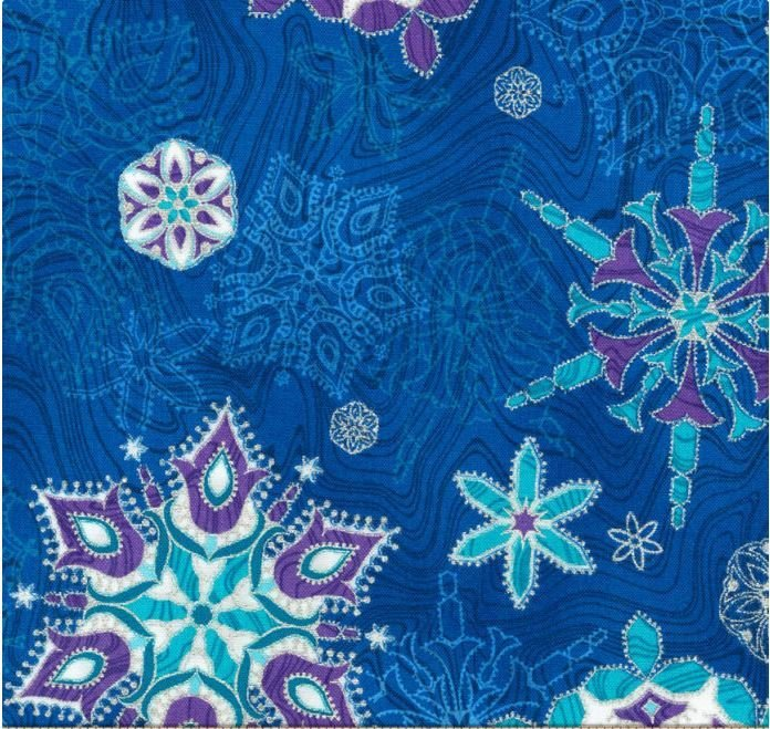 SbJL Limited Edition - 2018 Holiday Preorder - Peacock Snowflakes