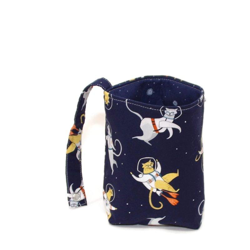 Space Cats - Bucket Bag