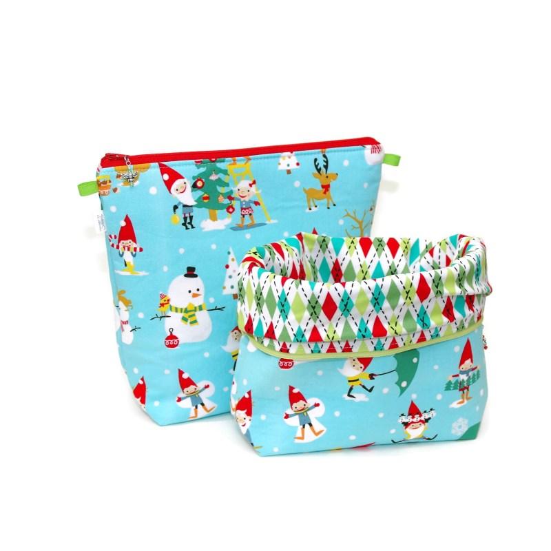 Holiday Gnomes - Tall Wedge Bag HolidayGnomes-TW