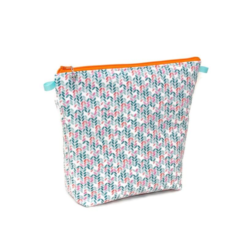Knit Stitch in Aqua - Tall Wedge KSAqua-TW