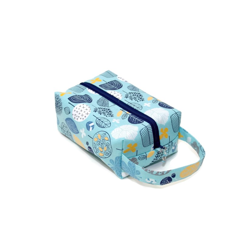 Botanical in Blue - Regular Box Bag BotanicalBlues-RB