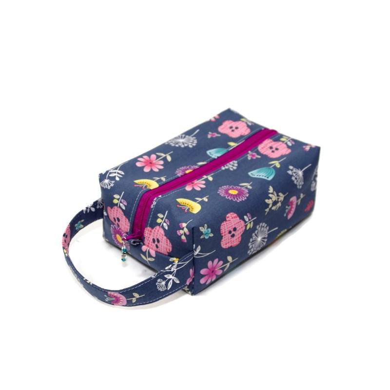 Botanical in Grey - Regular Box Bag BotanicalGrey-RB