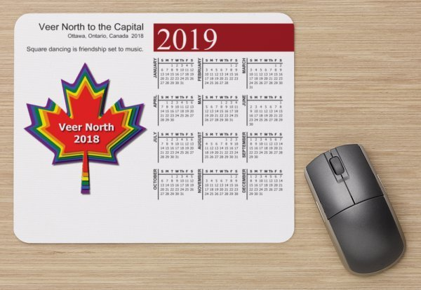 Veer North Mouse Pad and Calendar VN-Mouse-Calendar