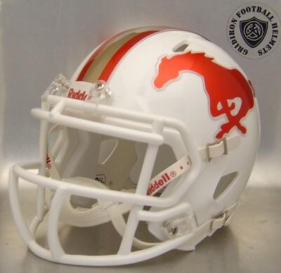 Coronado Mustangs HS 2017 (TX) Chrome Decals (mini-helmet)