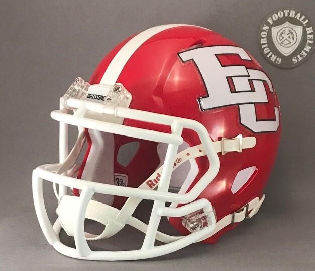 El Campo Ricebirds HS 2000-2017 (TX) (mini-helmet)
