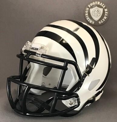 Grandview Zebras HS 2016-2018 (TX) (mini-helmet)