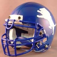 John Tyler Lions HS 2006-2009 (TX) (mini-helmet)