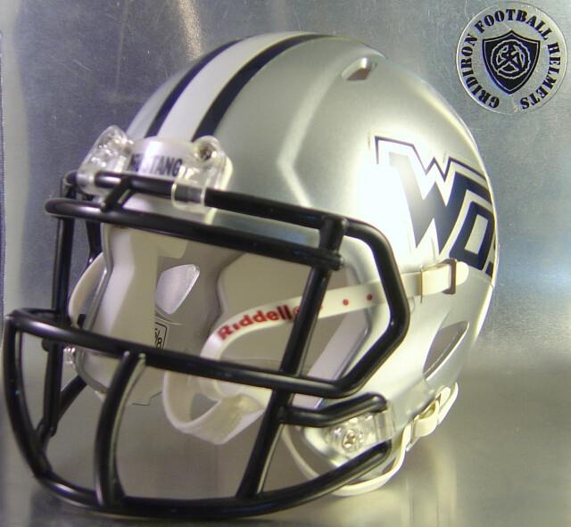 West Orange-Stark Mustangs HS 2013-2015 (TX) (Only 1 left) (mini-helmet)