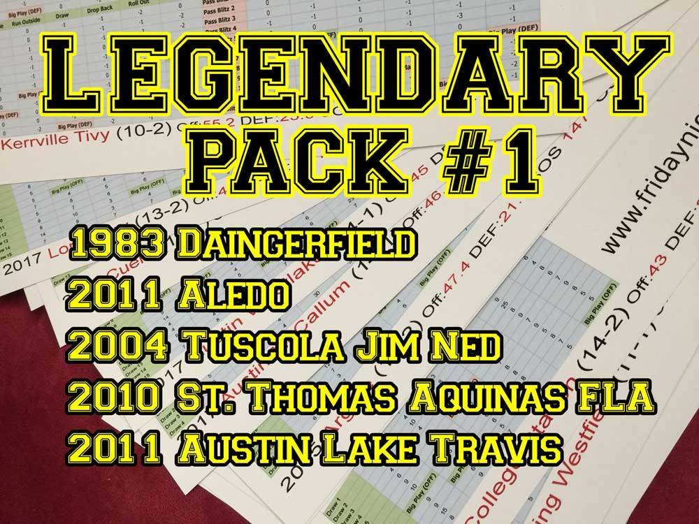 Legendary Pack #1 15035