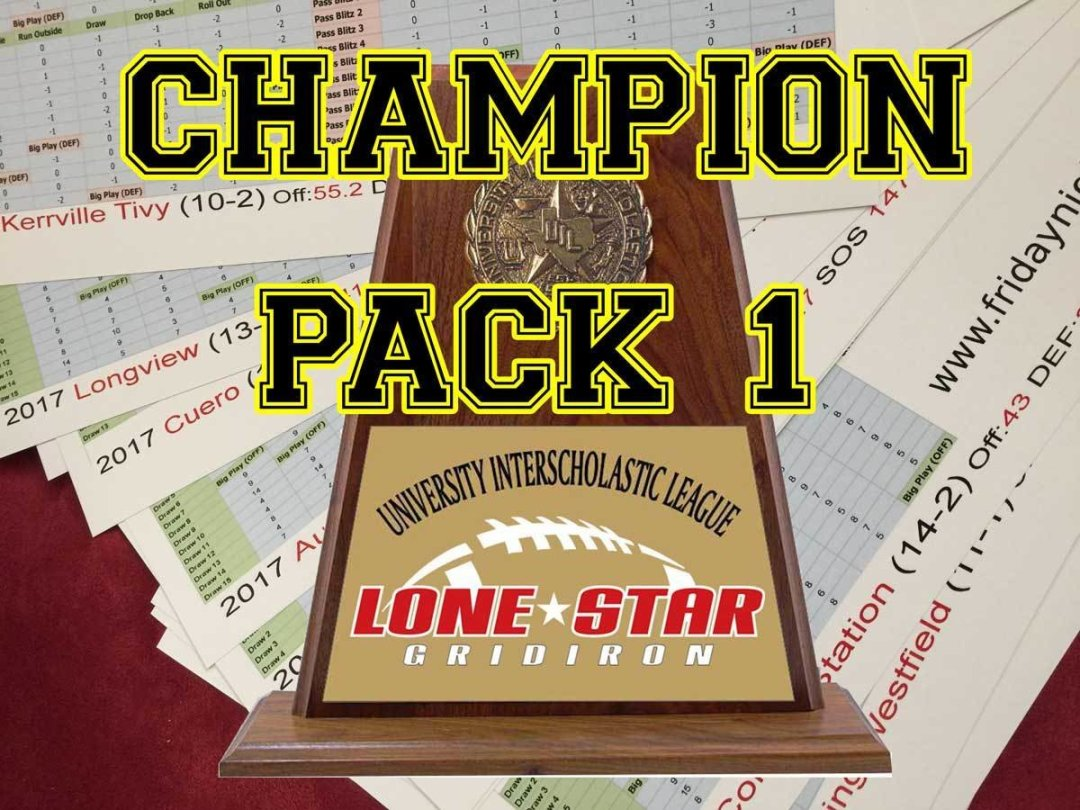 2017 Texas Champions Pack