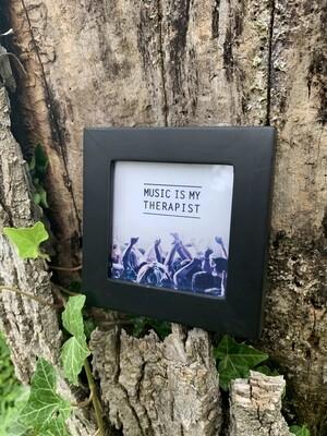 | music is my therapist | mini |