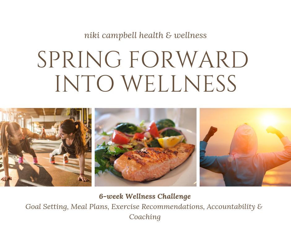 6-Week Spring Forward Wellness Challenge