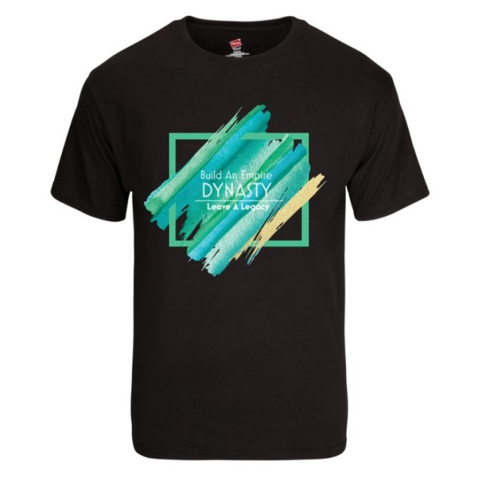 DYNASTY Color Out The Box Shirt ( Black) S/M/L/