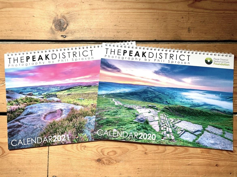 Peak District Calendar 2021 & 2020 Bonus Calendar