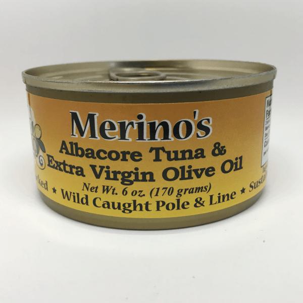 Merino's Extra Virgin Olive Oil Albacore Tuna