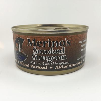 Merino's Smoked Sturgeon
