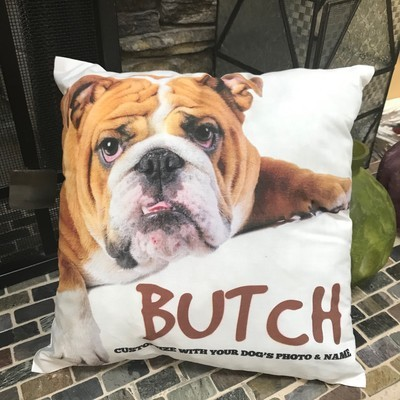 Doggie Photo Pillow