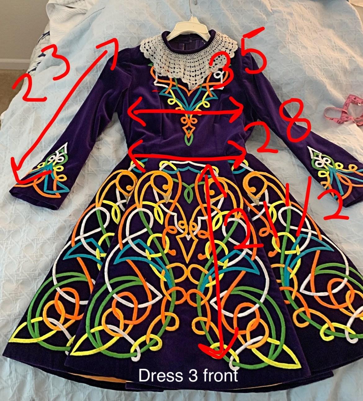 Vintage Irish Dance Dress