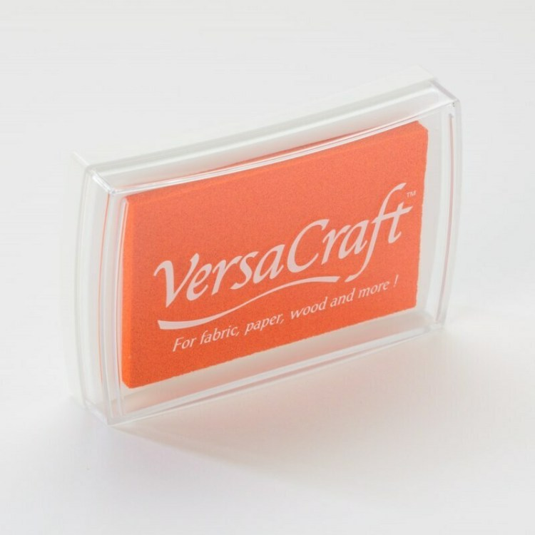 Encreur VersaCraft spécial tissu - Mandarine