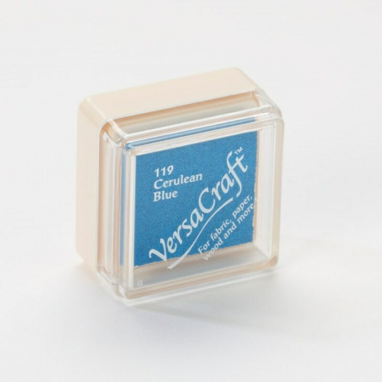 Encreur VersaCraft spécial tissu - Cerulean Blue