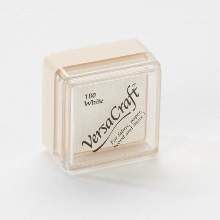 Encreur VersaCraft spécial tissu - White