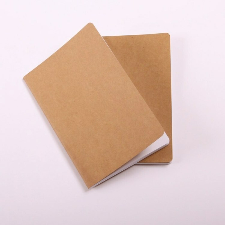 2 carnets Kraft A5 - 40 pages