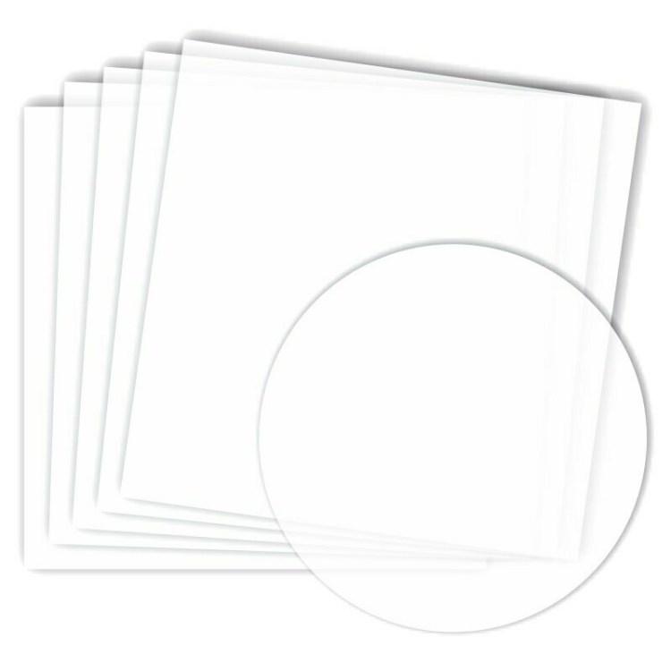 Set de 5 feuilles de papier calque - 31,5x30,5 cm