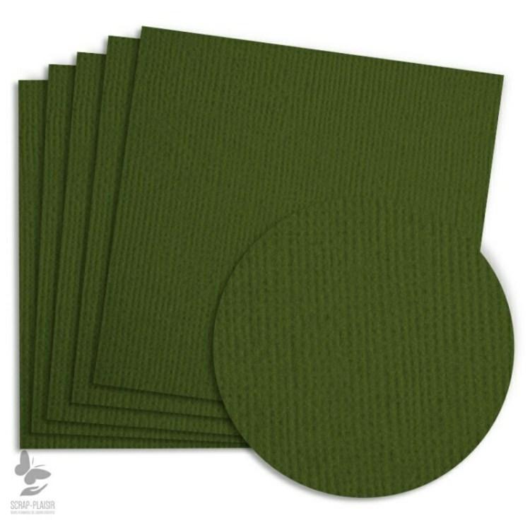 5 feuilles de papier texturé A4 - Avocat