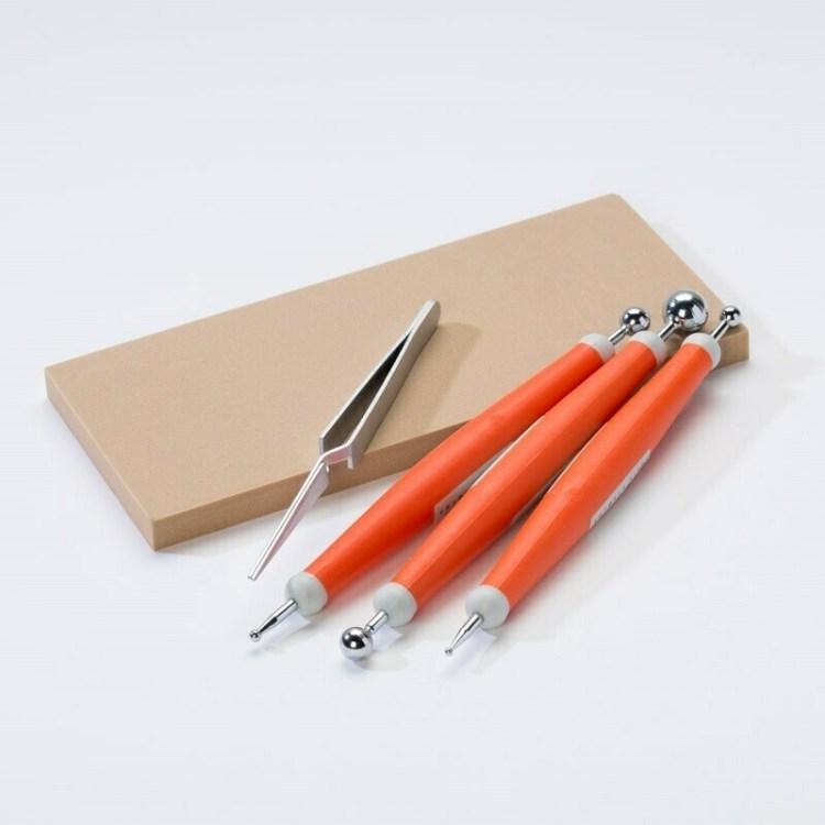 Kit de 5 outils pour embossage
