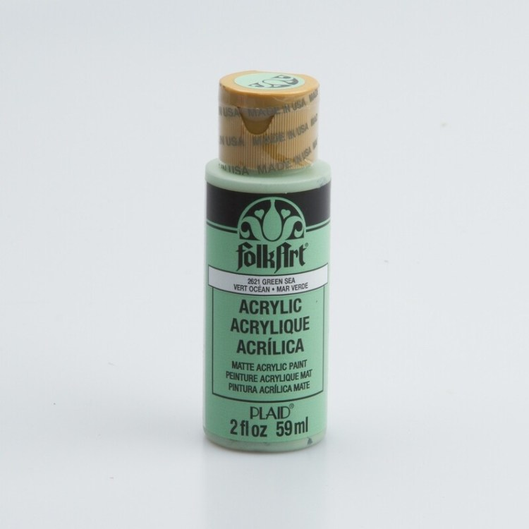 Peinture acrylique mat FolkArt Plaid 59 ml - Green Sea