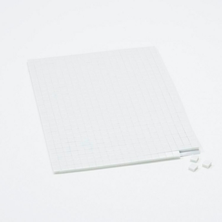 Carrés adhésifs 3D - Petits - 5mm