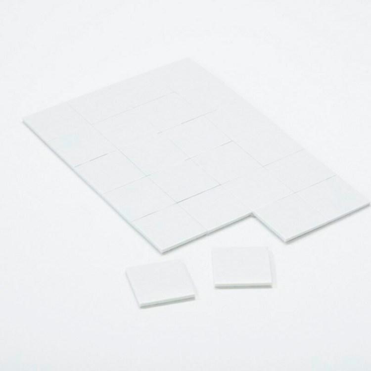 Carrés adhésifs 3D - Large - 25mm