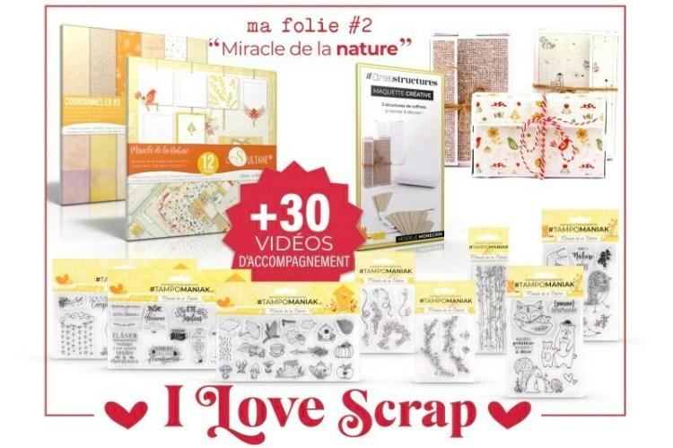 Mega kit I love Scrap Comme la nature est belle