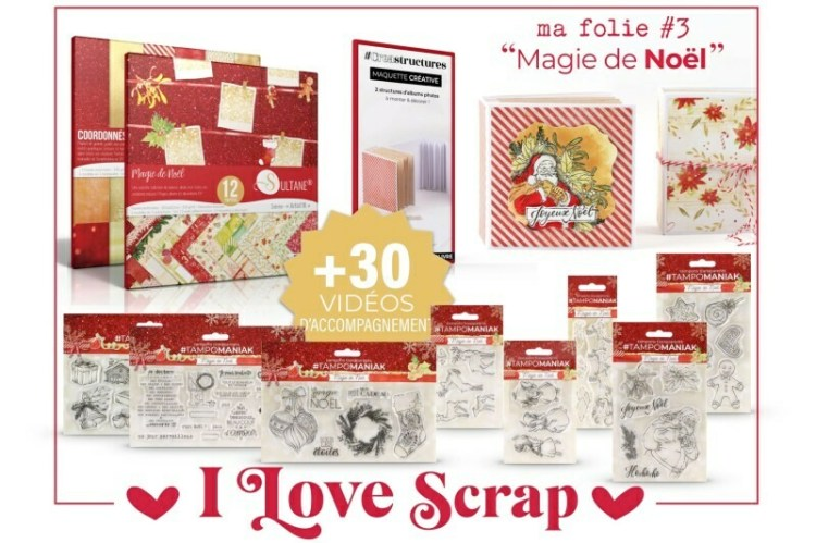 Kit I love Scrap Magie de Noel