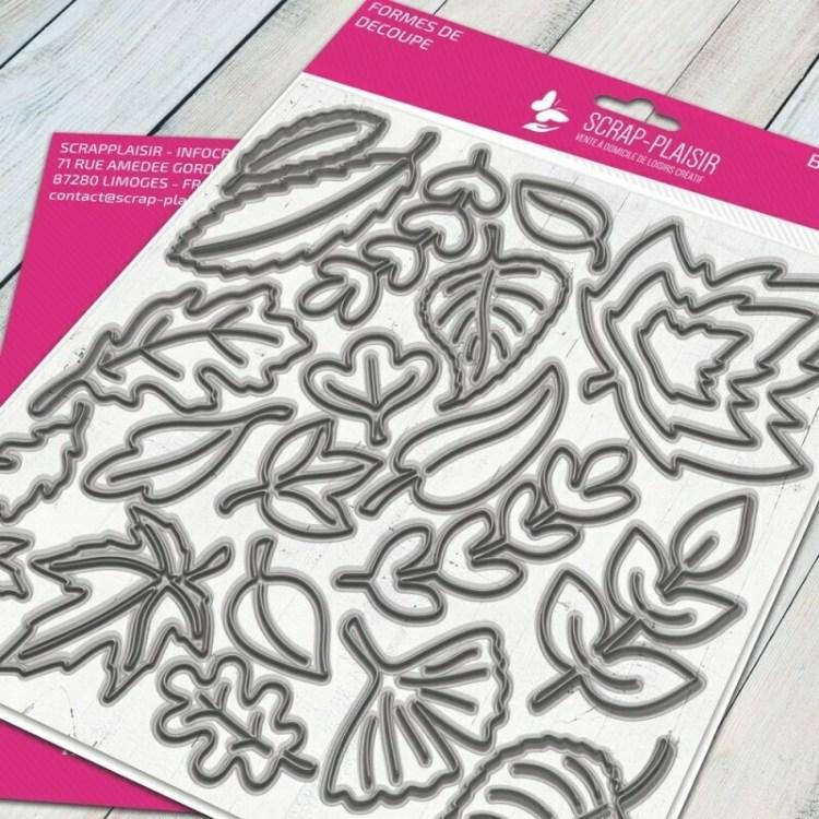 Set de 35 matrices de découpe automne - 15x15cm