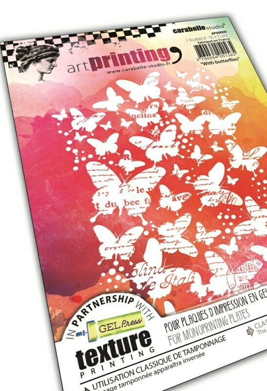 Art Printing A6 : With butterflies