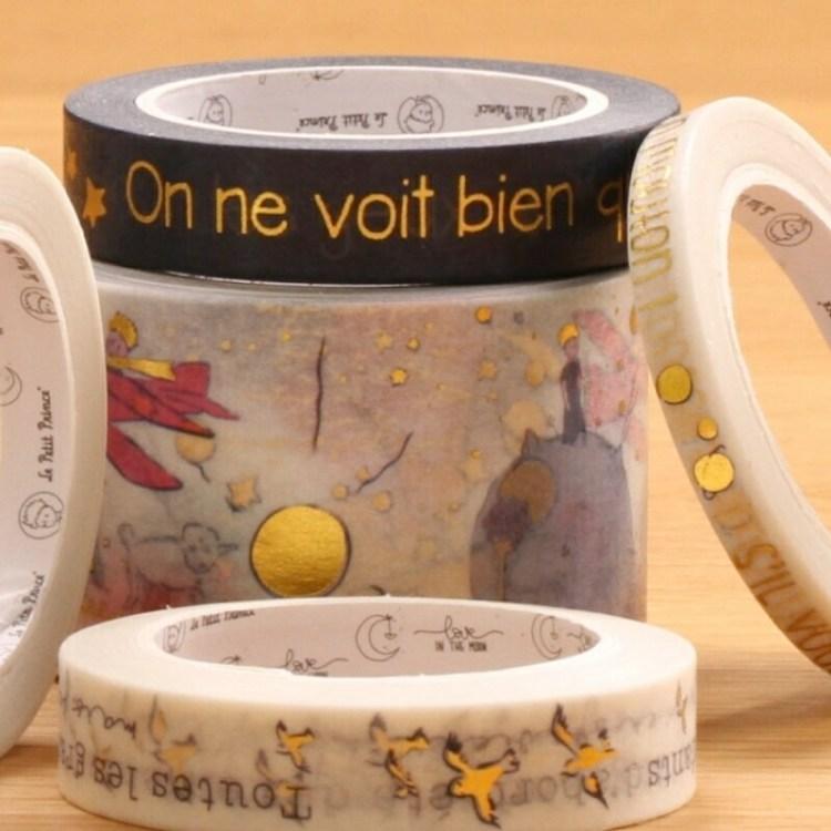 Sets de 10 Washi Tape exclusifs Petit Prince ®
