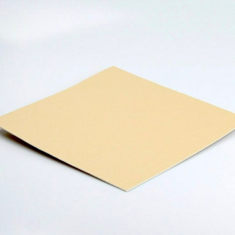 Plaque d'adhésif double face - blanc - 3D